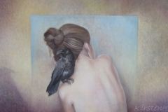 Omzien - Olieverf op doek - 40 x 70 cm. -2016