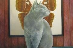 Vleugels  -  80 x 80 cm - 2013