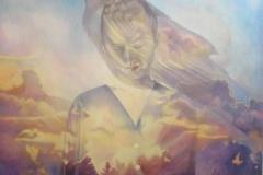 Wat is geweest - Olieverf op doek - 100 x 100 cm. 2017