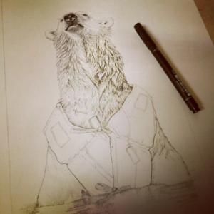illustratie - tekening in inkt