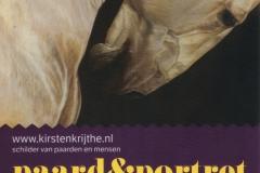 Flyer Paard en Portret