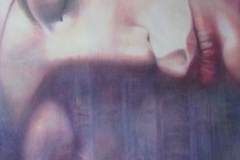 Gedachten - olieverf op doek 70 x 120 cm. 2015